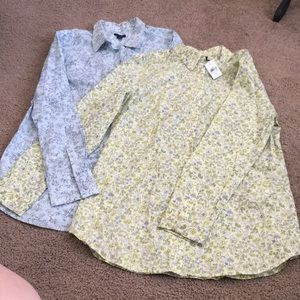 Ann Taylor pair of blouses Size 12